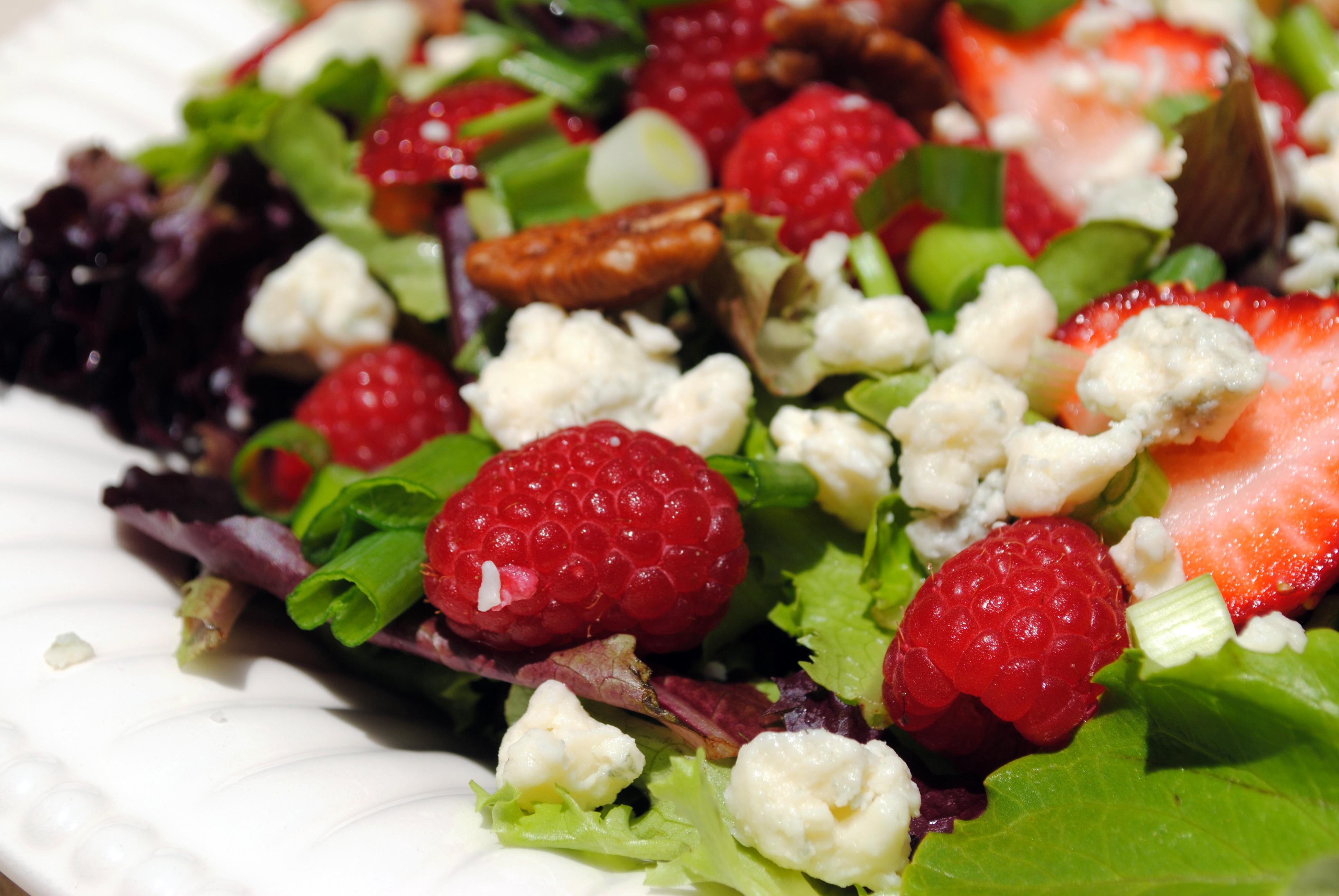 Berry, Gorgonzola and Pecan Salad | Clare Cooks!