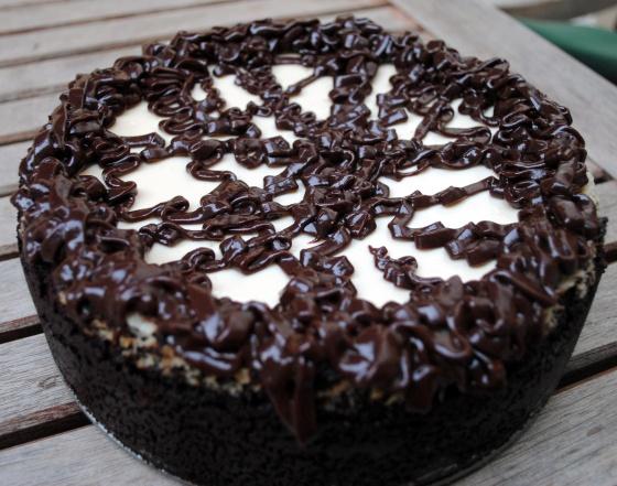 Gluten Free Cappuccino Fudge Cheesecake | Clare Cooks!