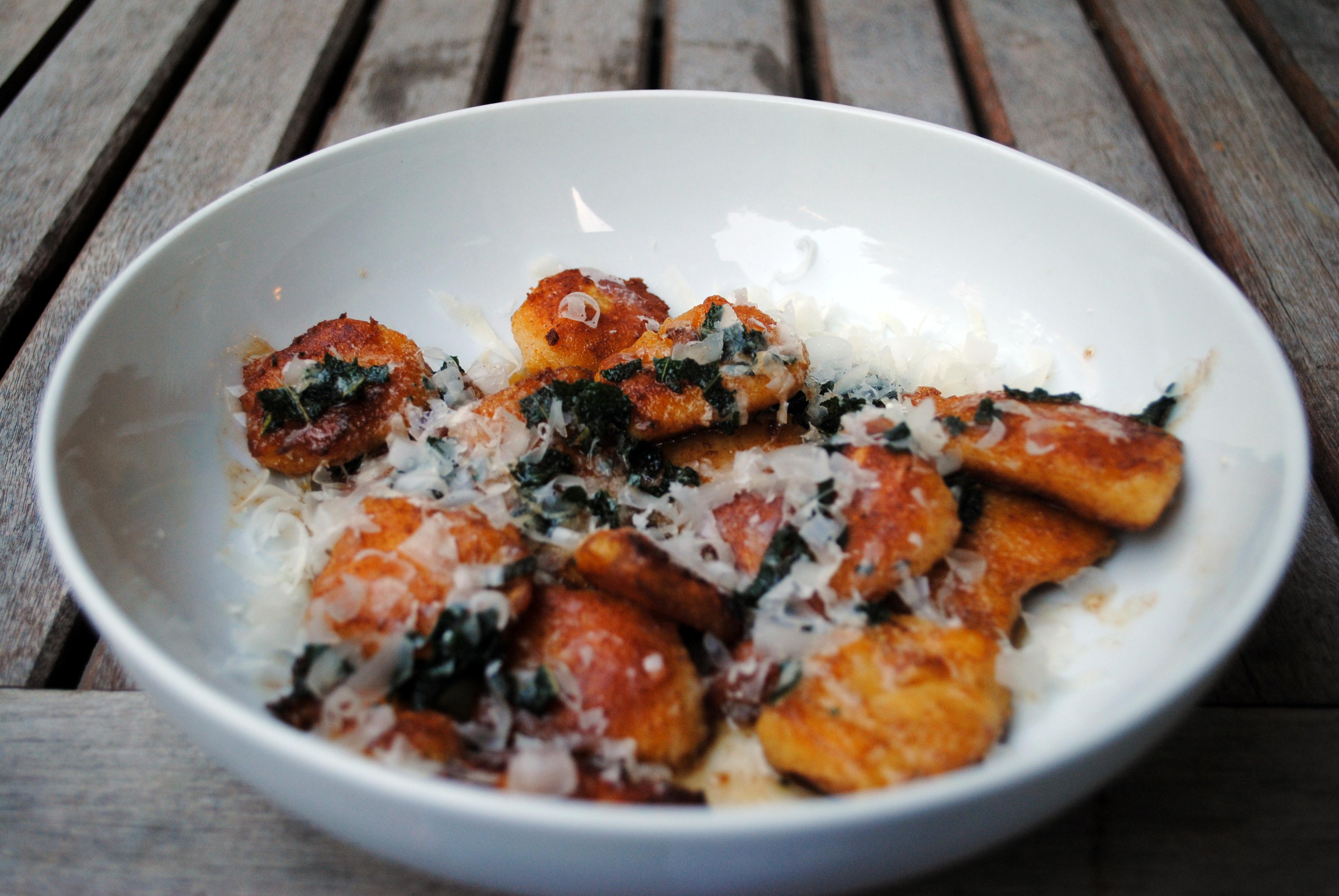 Gluten Free Pumpkin Gnocchi with Sage-Brown Butter Sauce | Clare Cooks ...