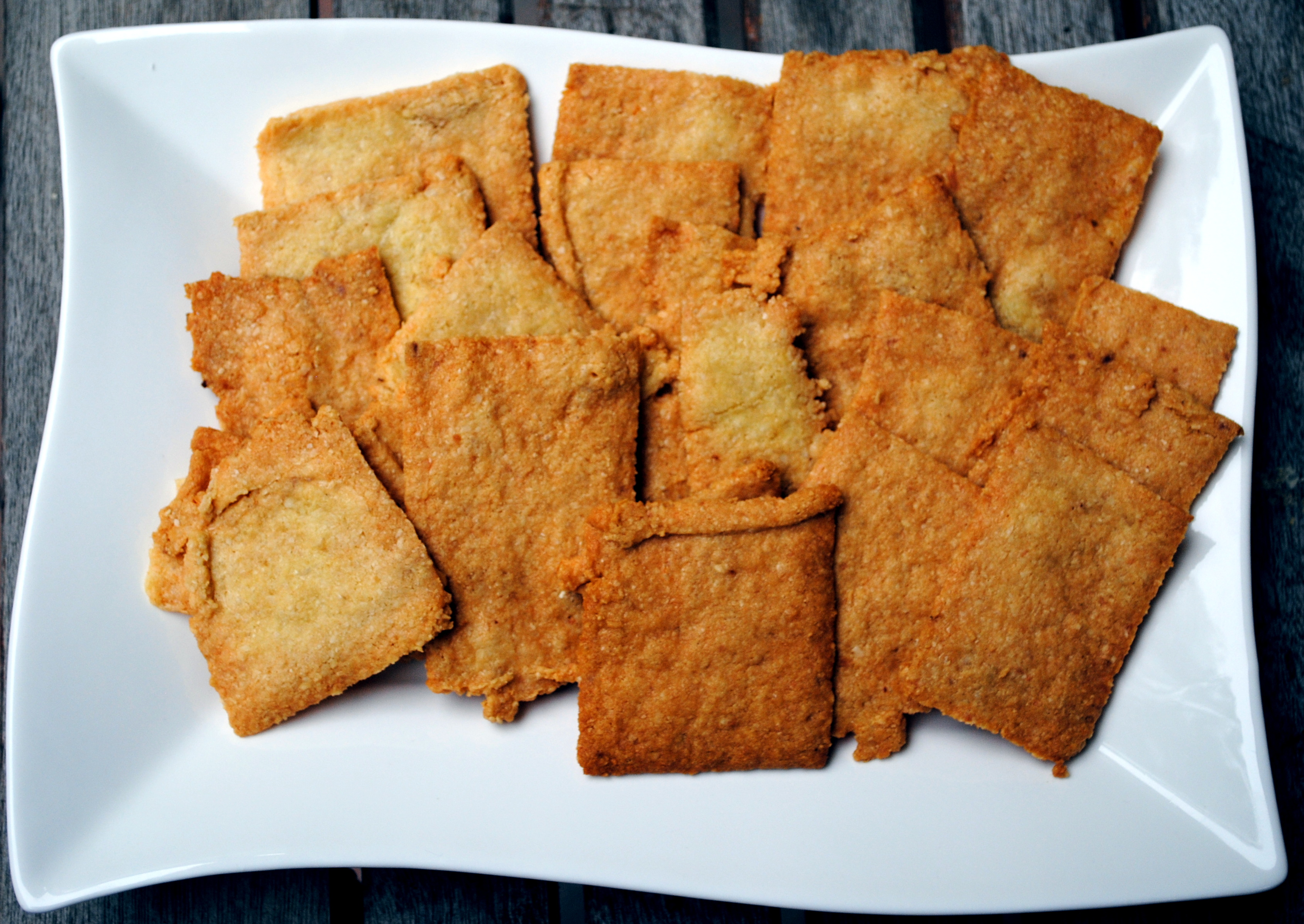 Cheddar Cheese Crackers (Gluten Free!) | Clare Cooks!