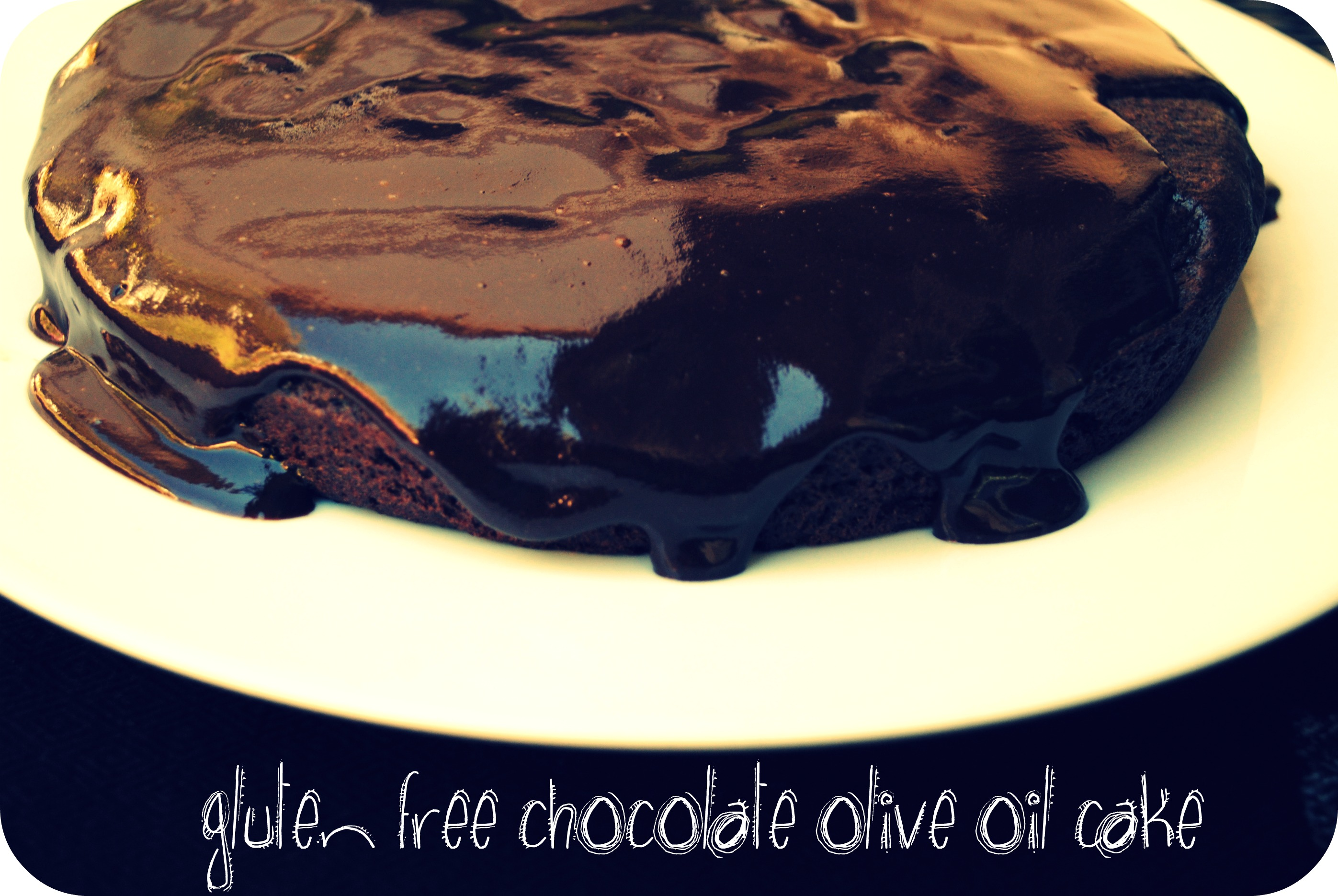 Gluten Free Chocolate Olive Oil Cake