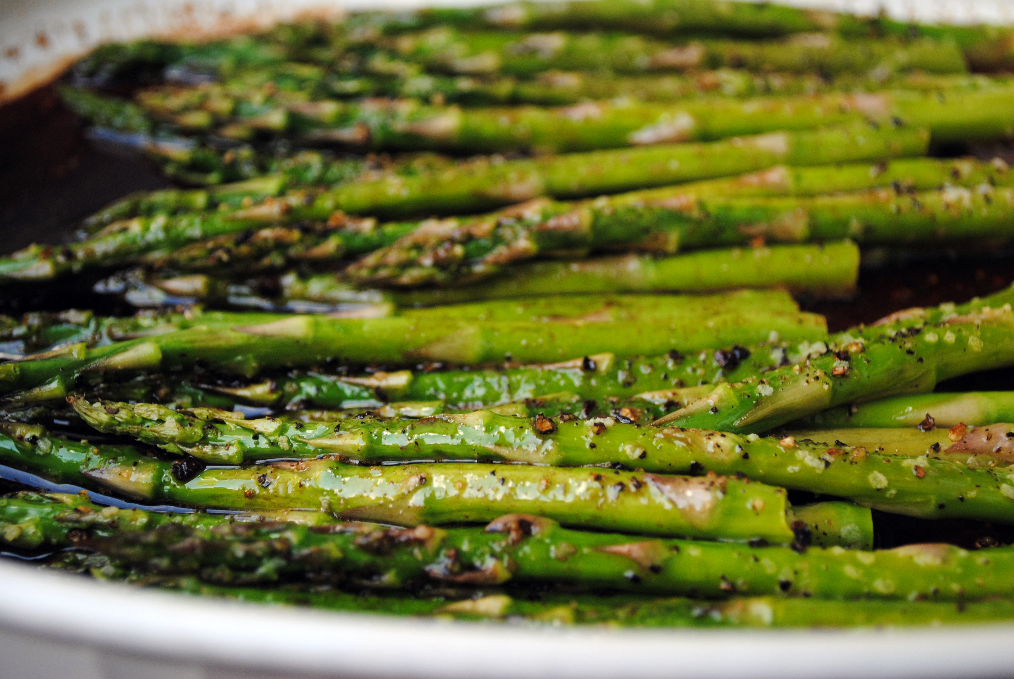 Balsamic Roasted Asparagus | Clare Cooks!
